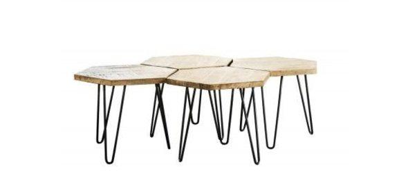 Davidi Design Aisne Salontafel Set Blank