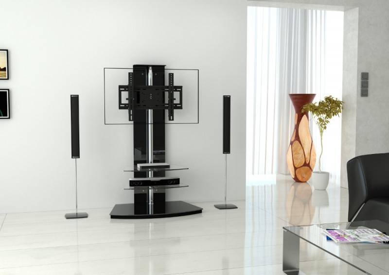 Casado Cinetron Stand TV meubel Zwart