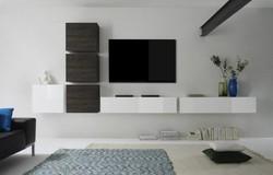 Cube TV wandmeubel Nine