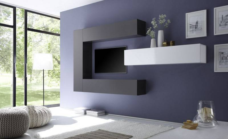 Benvenuto Design Cube TV wandmeubel Three