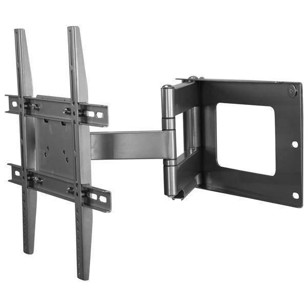 DQT Hercules Fixed TV muurbeugel Zilver