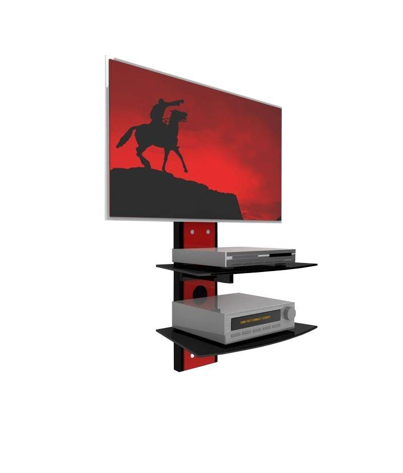 Casado Shelver TV wandmeubel Rood