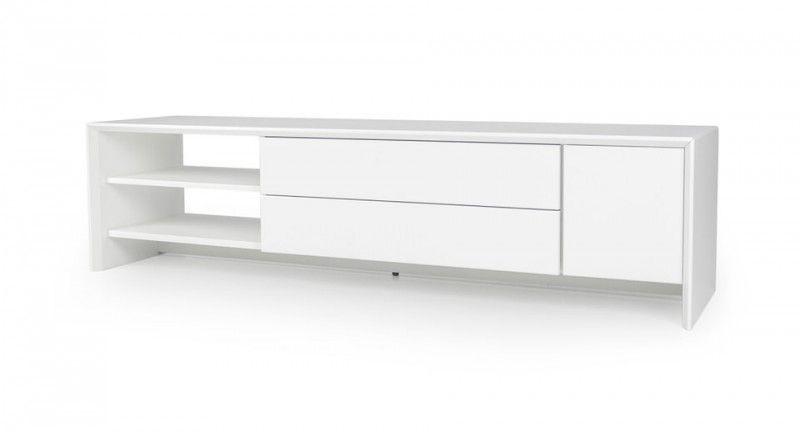 Tenzo Profil TV meubel 150 cm. Wit