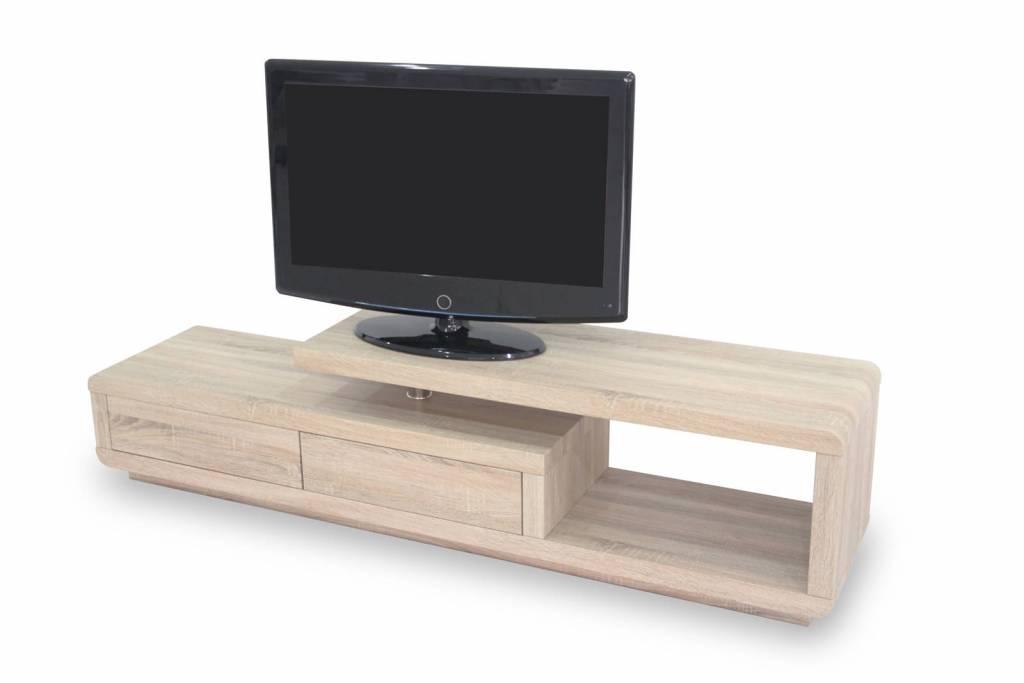 Monaica Crystal TV meubel Sonoma Eiken