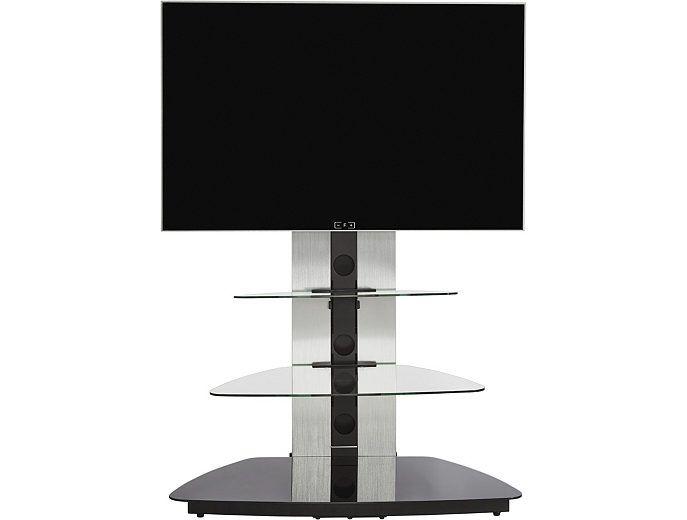 Jahnke Moebel Cuuba MR 90 TV meubel Zilver/Zwart