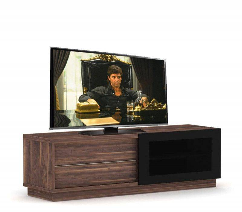 Elmob Harmony Slide TV meubel Walnoot