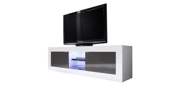 Benvenuto Design Modena TV meubel Big HG Wit/Antraciet