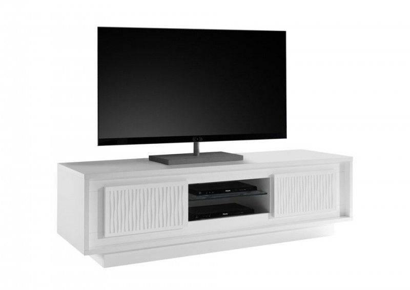 Benvenuto Design Sky TV meubel Gestreept Wit