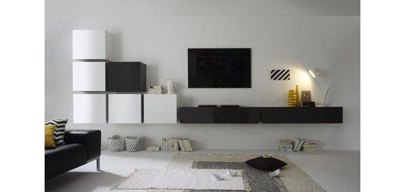 Benvenuto Design Cube TV wandmeubel Combi Nine