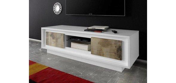 Benvenuto Design Sky TV meubel Wit/Eiken