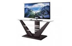 Luna TV-meubel Hoogglans Donkerbruin