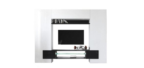 Benvenuto Design Incastro TV Wandmeubel Zwart