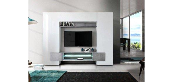 Benvenuto Design Incastro TV Wandmeubel Beton