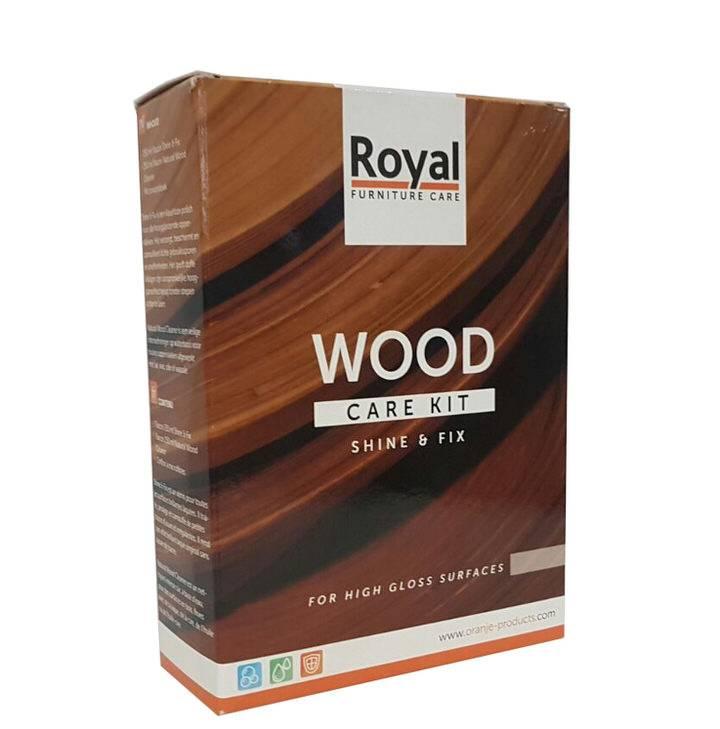 Oranje Furniture Care Royal Wood Care Kit Hoogglans