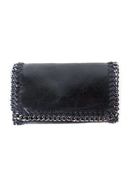 LITTLE CHAIN BAG – BLACK LEATHER