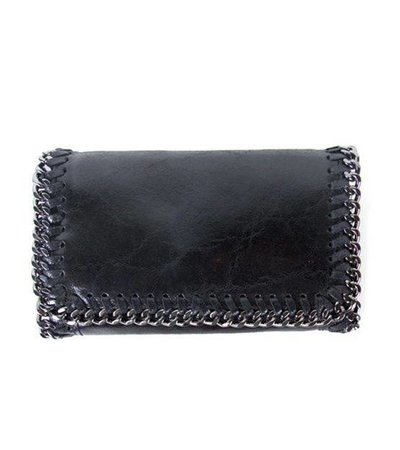 LITTLE CHAIN BAG – BLACK LEATHER