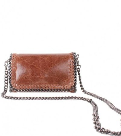 LITTLE CHAIN BAG – BROWN