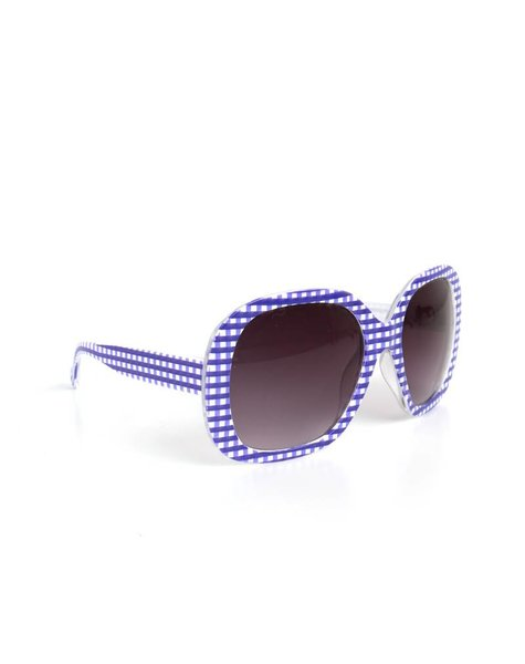 BLUE & WHITE PATERN SHADES