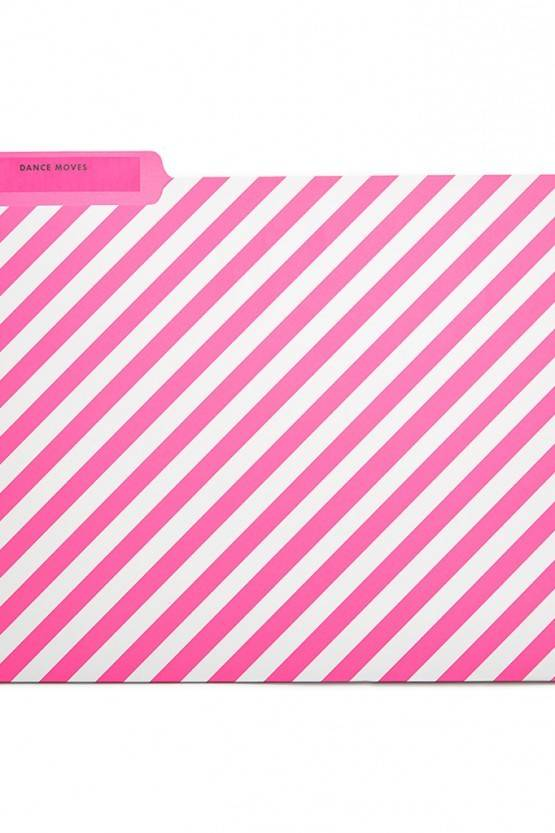 FILE FOLDER DOTS & STRIPES