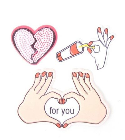 HEART FOR YOU STICKER