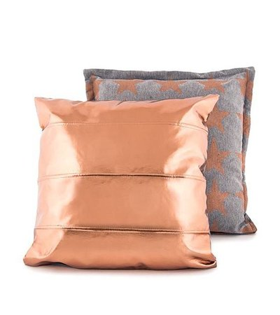 COPPER STARS CUSHION