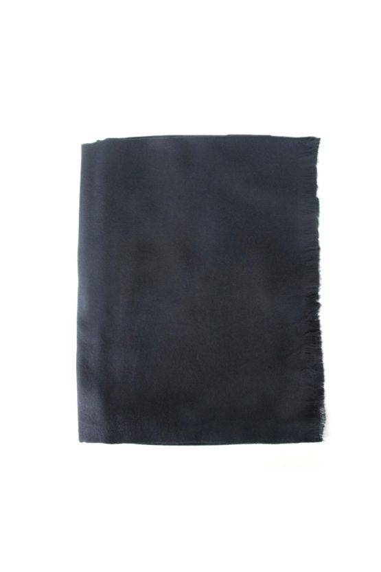 ALL BLACK SOFT SCARF
