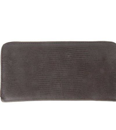 TAUPE CROCO WALLET
