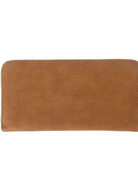CAMEL CROCO WALLET
