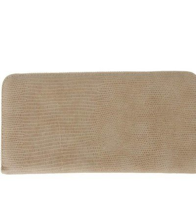 BEIGE CROCO WALLET