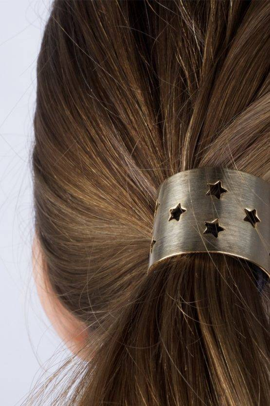 STAR GOLD HAIR TIE