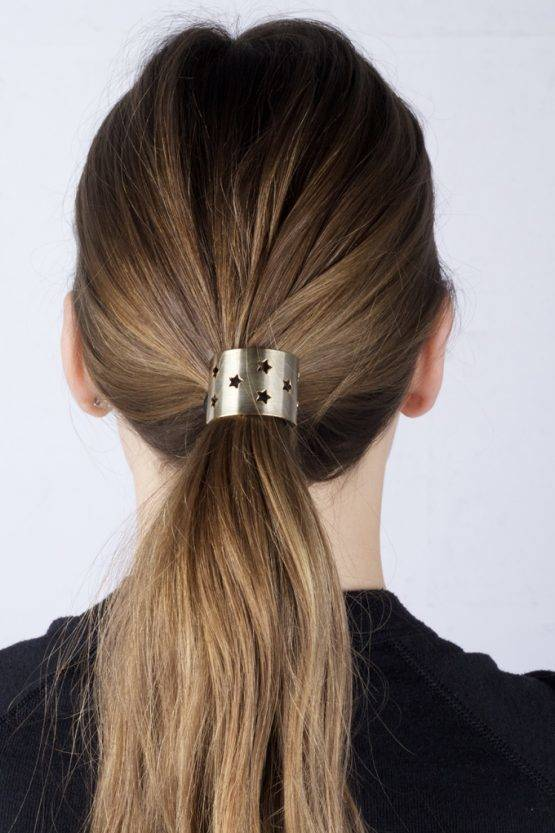 STAR GOLD HAIR TIE - Clouds of Fashion 6318787d898
