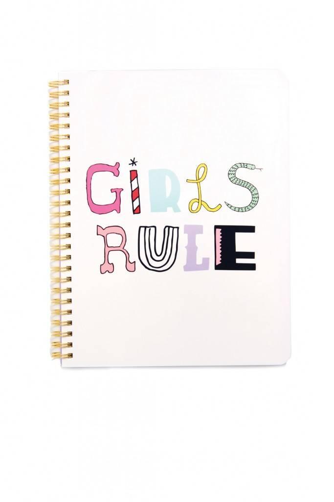 GIRLS RULE NOTEBOOK