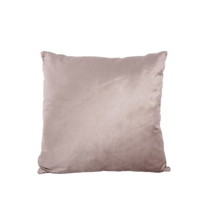 TAUPE VELVET CUSHION