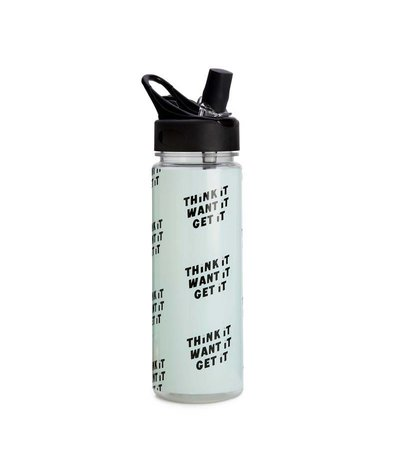 THINK IT, WANT IT, GET IT WATERBOTTLE