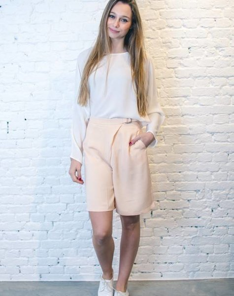 CULOTTE SHORTS – SOFT PINK