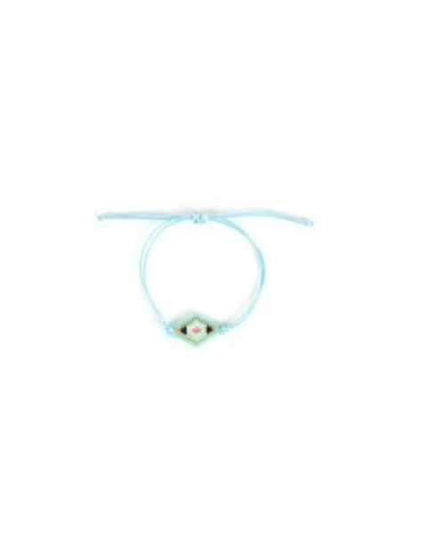 IBIZA RECTANGLE SQUARED BRACELET BLUE