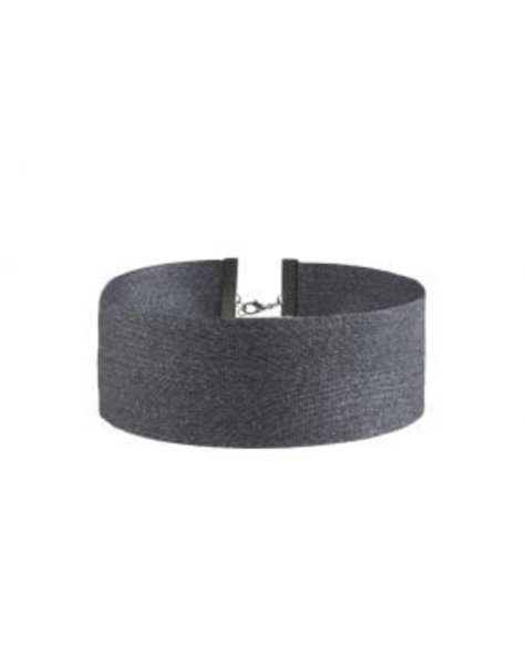 GREY BIG JEANS CHOKER
