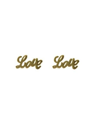 LOVE EARRING GOLD
