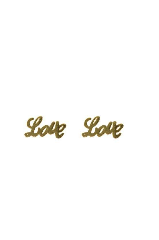 LOVE EARRING GOLD