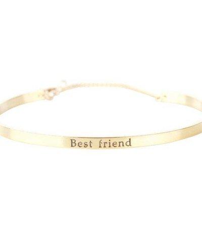 BEST FRIEND BRACELET GOLD