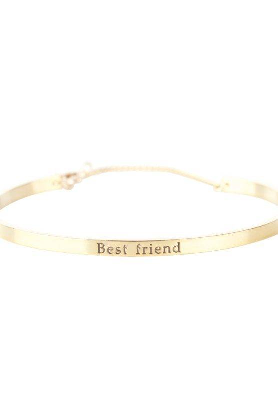 BEST FRIEND BRACELET GOLD