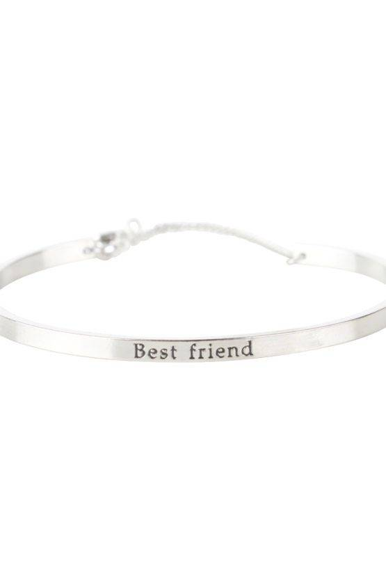 BEST FRIEND BRACELET SILVER