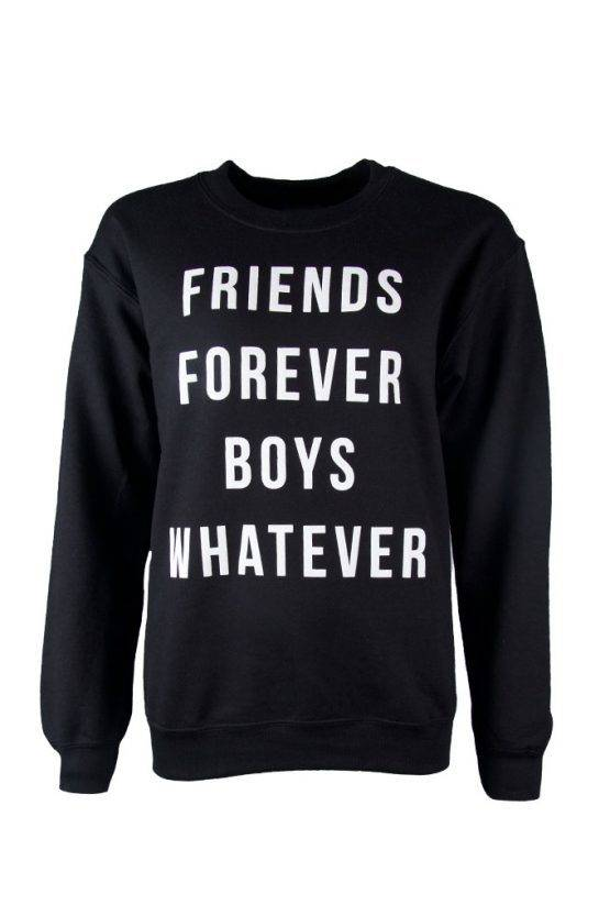 FRIENDS FOREVER BOYS WHATEVER SWEATER
