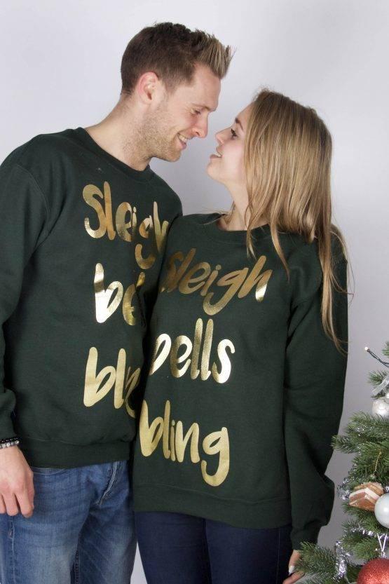 SLEIGH BELLS BLING SWEATER