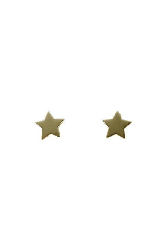 MINI STAR EARRING GOLD