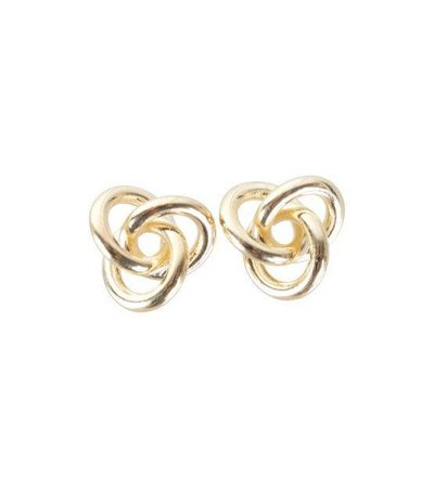 KNOT EARRINGS GOLD
