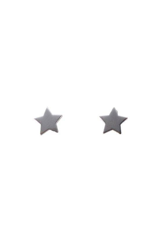 MINI STAR EARRING SILVER