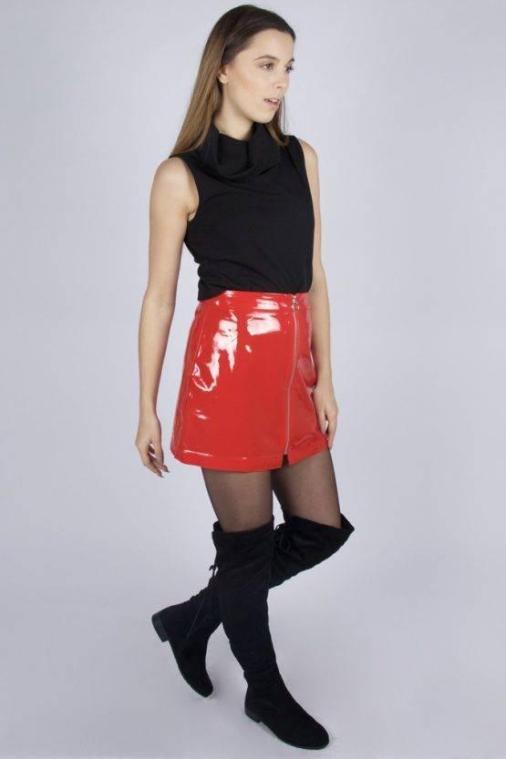 RED SPICE GIRL SKIRT