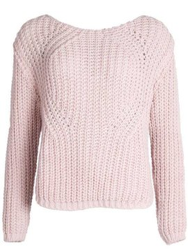 PERFECT CUDDLE SWEATER PINK