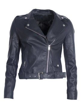 TOUGH BIKER JACKET BLACK